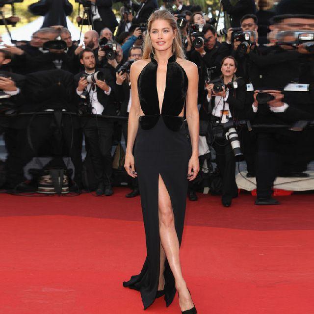 cannes red carpet 2017   Doutzen Kroes Cannes Film Festival Red Carpet Celebrity Dresses 2017 ...