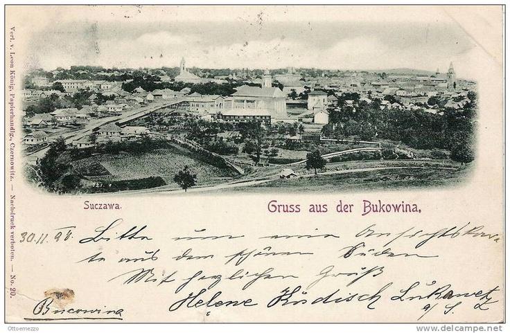 Suceava - Vedere generala - 1898