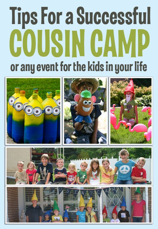 Cousin Camp diy ideas #summer #familyreunion