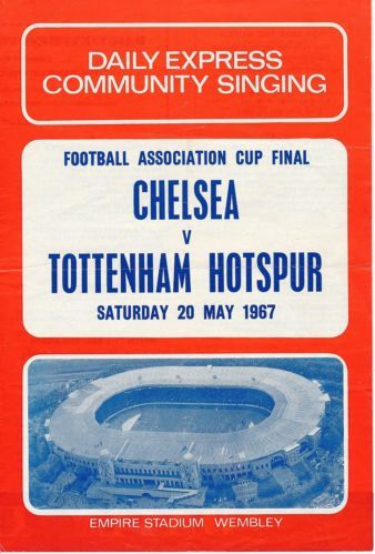 SONGSHEET-FA-Cup-Final-1967-Spurs-v-Chelsea