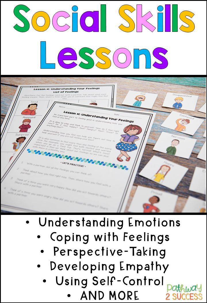 Social Skills Lessons for Empathy and Feelings | Counseling