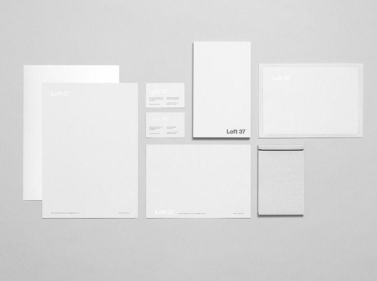 LOFT 37 - Corporate ID #Branding #identity #logo #naming #stationery