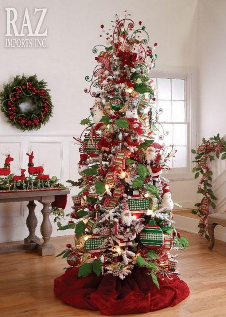 5903 best Christmas Tree images on Pinterest