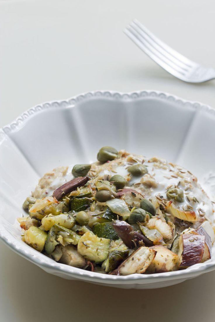 Porridge salé oatmeal aux flocons de sarrasin