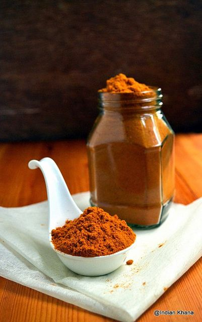 'I try this once then i am hooked :-) ' Homade Sambar Podi Powder Recipe by Priti_S, via Flickr