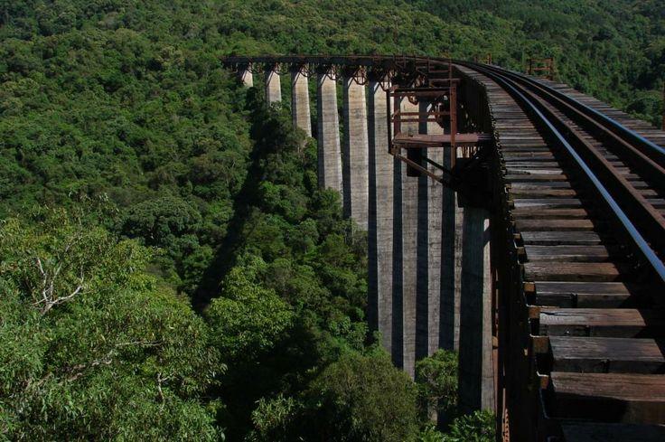 Muçum-Guaporé, ferrovia do trigo :)