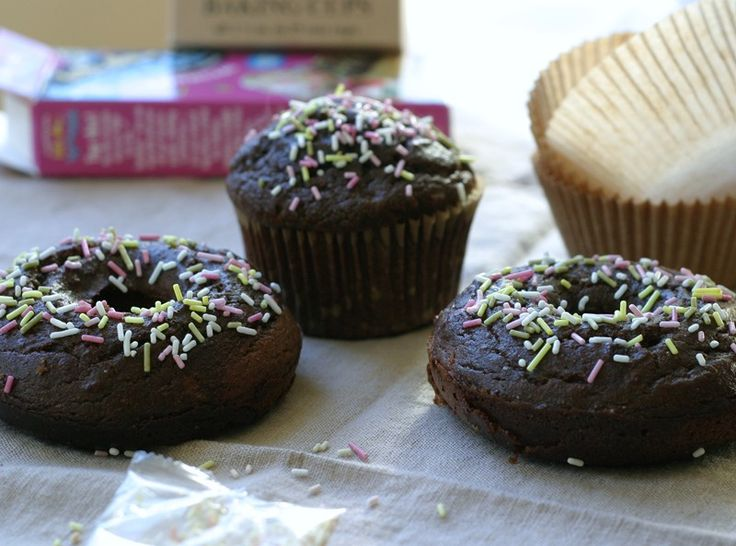 GF Paleo Chocolate Muffins  (dairy free, gluten free, lactose free, nut free, paleo, vegetarian)