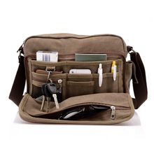 Hot! High Quality Multifunction Men Canvas Bag Casual Travel Bolsa Masculina Men's Crossbody Bag Men Messenger Bags //Price: $US $19.00 & FREE Shipping //     #beauty