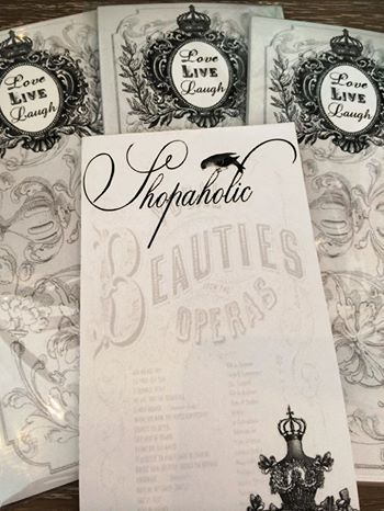 Have you ever stood in the middle of a shop and totally forgotten what else you need to buy? Consider those days over! We have some amazing notepads that have just arrived! Take a look!