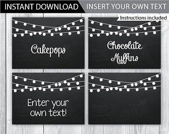 Free Printable Editable Chalkboard Labels Chalkboard Labels Printable Free Printable Chalkboard Labels Food Labels Printable