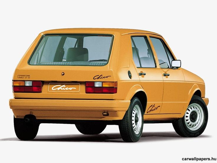 1998 Volkswagen Citi Golf Chico' green one