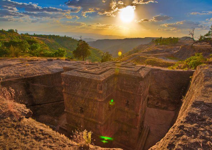 Las iglesias de Lalibela Etiophia