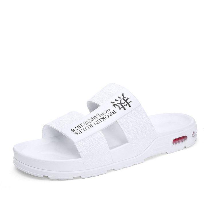 Men's Sandals New Season Men's Outdoor Air Cushion Casual Beach Slippers…