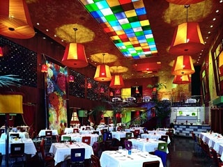 Carnivale Restaurant in Chicago   -Amazing Brazilian food and fun atmosphere.