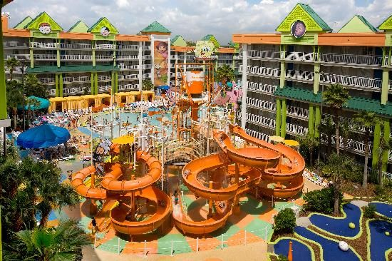 Nickelodeon Hotel in Orlando, Florida