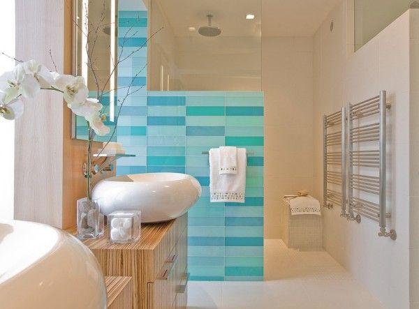 badezimmer design ohne fliesen wandpaneele glas holz unterschrank