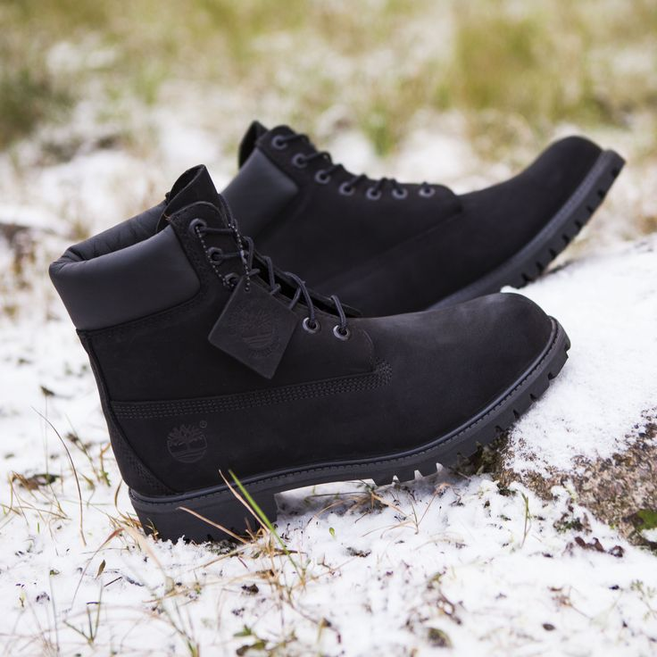 "Timberland 6"" Premium All Black"