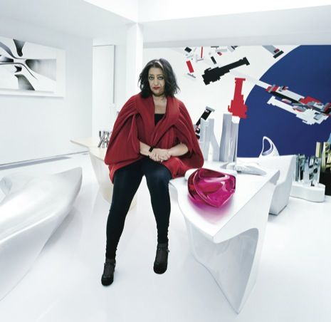One of the designers i will always look up to. Zaha Hadid, photo by Miles Alridge