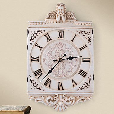 Europa Style Polyresin Wall Clock – USD $ 50.99