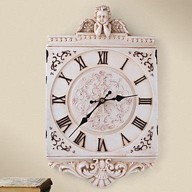 Europa Style Polyresin Wall Clock – USD $ 50.99