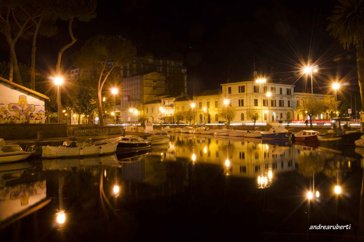 Viareggio, Italy Darsena