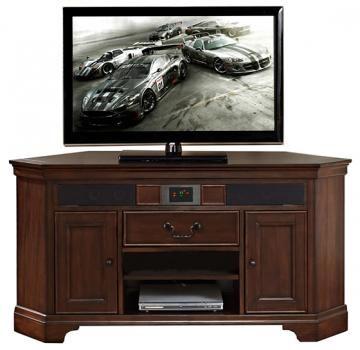 Huff Corner TV Stand - Corner Tv Stand - Tv Tables - Tv Stands For Flat Screens - Tv Sound Bar | HomeDecorators.com