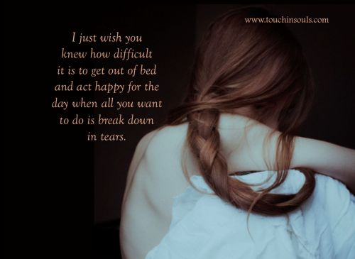 I just wish you knew ...
