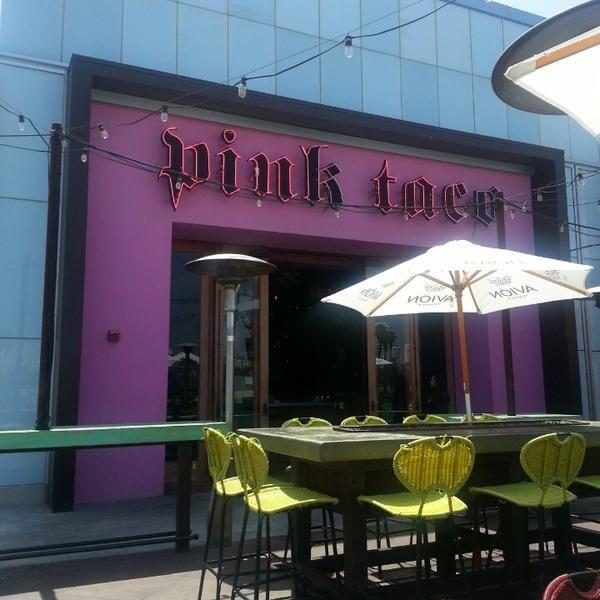Pink Taco Mexican Restaurant, Bar, and Latin American Restaurant 10250 Santa Monica Blvd (at Century Park West), Los Angeles, CA 90067