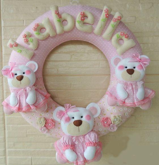 Porta Maternidade - Ursinhas