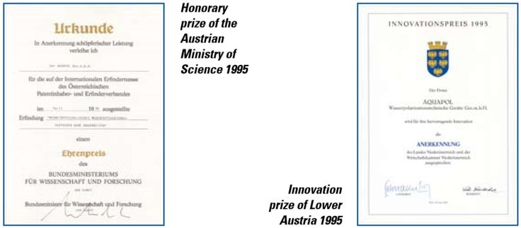 Honorary prize of the Austrian Ministry