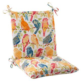 Accent A Patio Arm Chair Or Add A Pop Of Color To Your Dining Room Seating  With This Versatile Cushion, Showcasing A Tie Down Design And  Weather Resistant ...