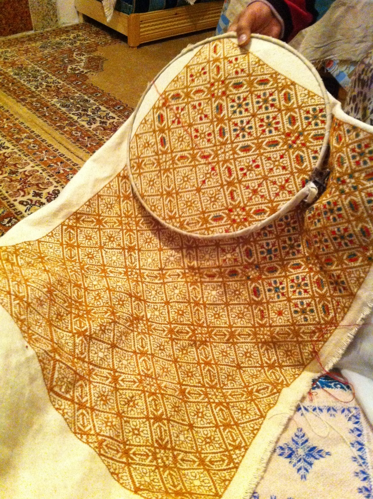 traditional Moroccan Fesi embroidery creation.tameslouht@gmail.com