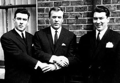 With their gang, The Firm, the Kray twins were involved in armed robberies, arson, protection rackets, assaults and murders, in the East End of London during the 1950s and 1960s.