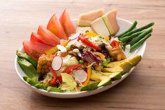 サラダ、バーニャカウダー|旬菜厨房 アダージオ