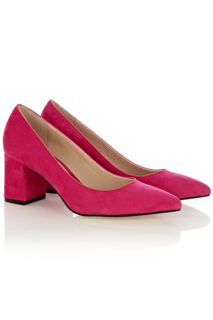 Jasmine Shoe http://www.coast-stores.com/jasmine-shoe/all-accessories/coast/fcp-product/6110023860: 55 Pink, Coast Pink, Pink Court, 55 Coast, Pink Shoes, Chunky Heels, Affordable Shoes, Shoes Heels, Jasmine Shoes