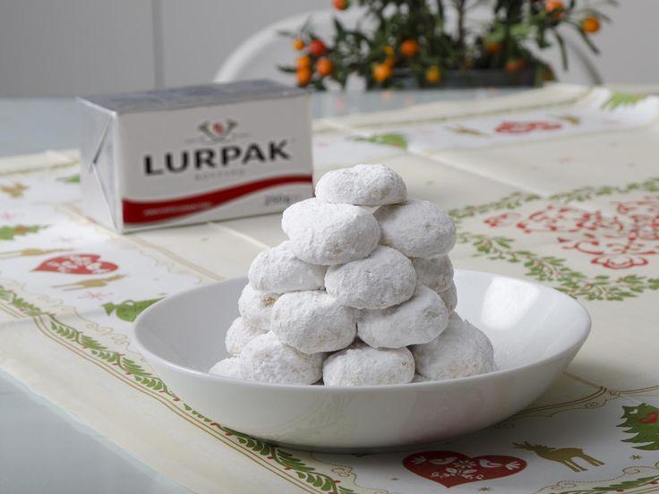 Δείτε τη συνταγή του Lurpak και ετοιμάστε εύκολα και γρήγορα τους δικούς σας, αρωματικούς, αφράτους κουραμπιέδες.