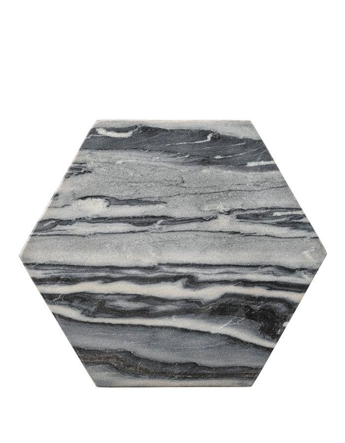 Mramorové šedé prkénko | KITCHENETTE SHOP