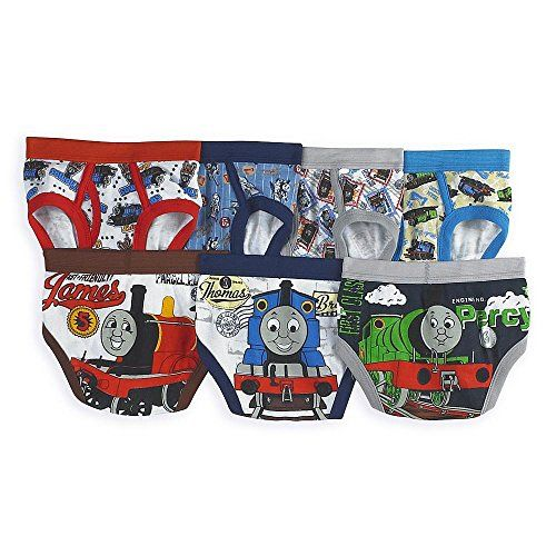 Thomas the Tank Engine Train Toddler Boys' 7 Pack Underwe...