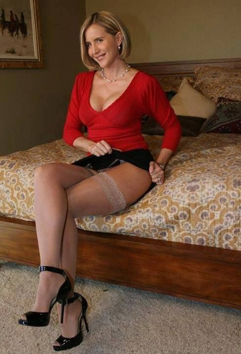 Stockings wife in
