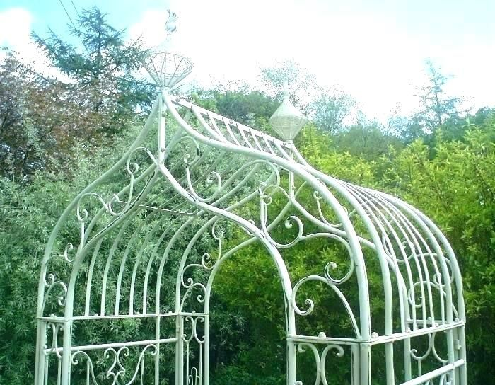 Iron Garden Arch Wrought Iron Garden Arches Metal Garden Arches