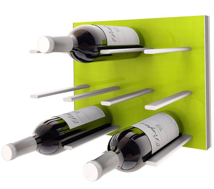 STACT C-type Wine Rack - Citrus Green