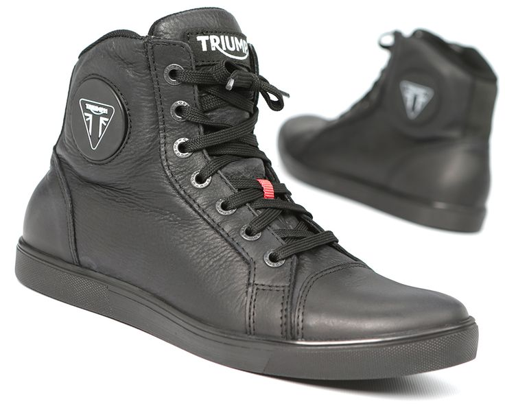 Triumph's Unisex Urbane Boots deliver comfort, style and protection while riding or relaxing. Find them at shop.triumphmotorcycles.com (Canada: shop.triumph-motorcycles.ca) and at your Triumph dealer. #Boots #GearTriumph Motorcycles America