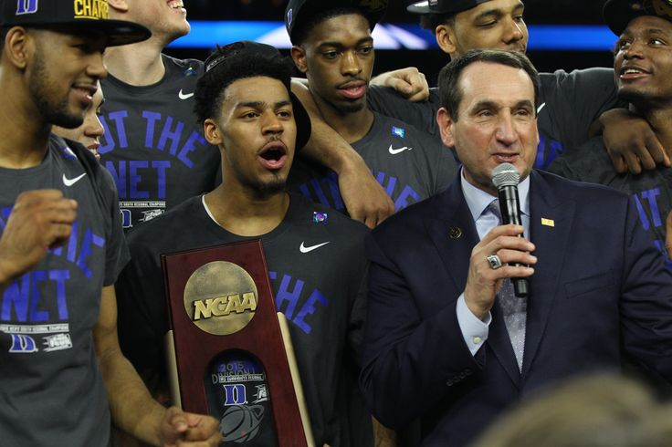And then there were two. So the college basketball season has come down to this: No. 1-seed Wisconsin and No.1-seed Duke will battle it out for the NCAA Championship. Conspicuously missing in that opening statement …