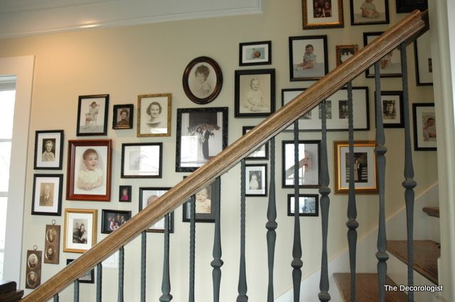 STEP #4- The Secret to Making Your House a Home – The Family Photo Wall