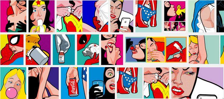 Trova più Pittura e calligrafia Informazioni su Arte astratta colorato pop art sfondo pittura murale pittura a olio casa immagine astratta…