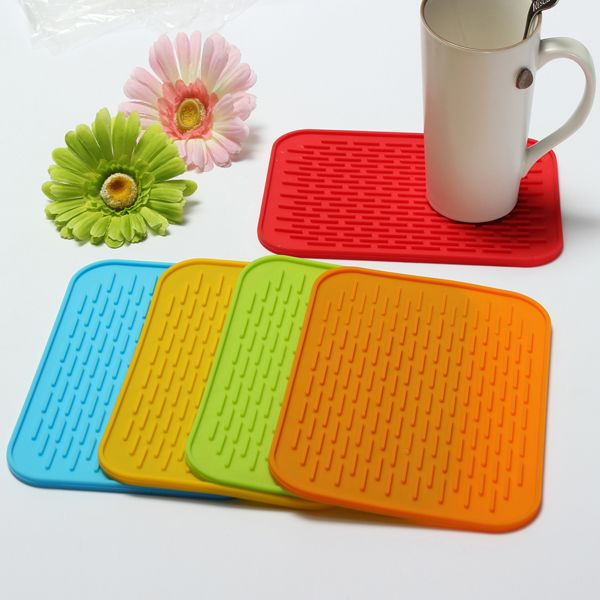 Non-slip Silicone High Temperature Insulation Pad Tableware Placemat