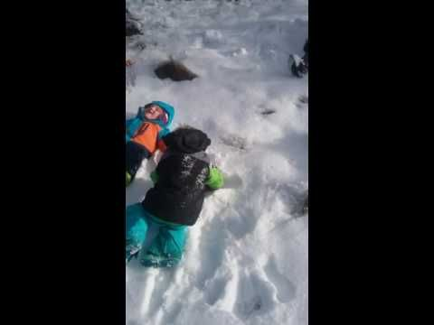 Fun at the snow - YouTube