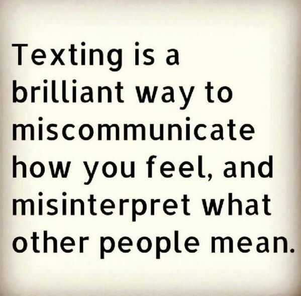 Lol oh yes! rather talk to someone face to face. Julie, how often do you and I say this!?!