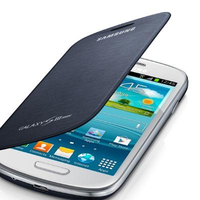 Funda Samsung Galaxy S3 Mini Original Flip Cover - Azul