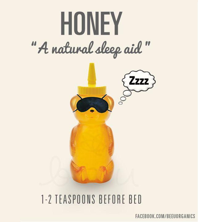 Trouble sleeping? Try honey!